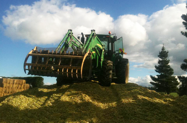 Maize Pit Silage, Flintoft Contractors Culverden