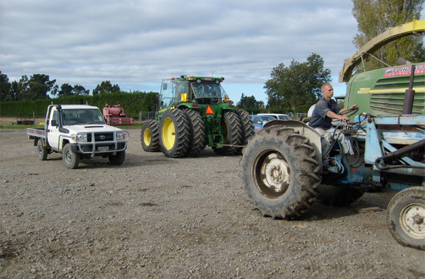 Tractor driving jobs Flintoft Contrators