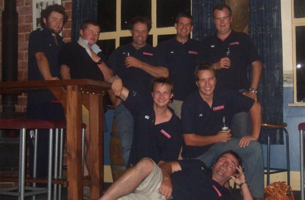 Flintoft Contracting staff Rotherham pub